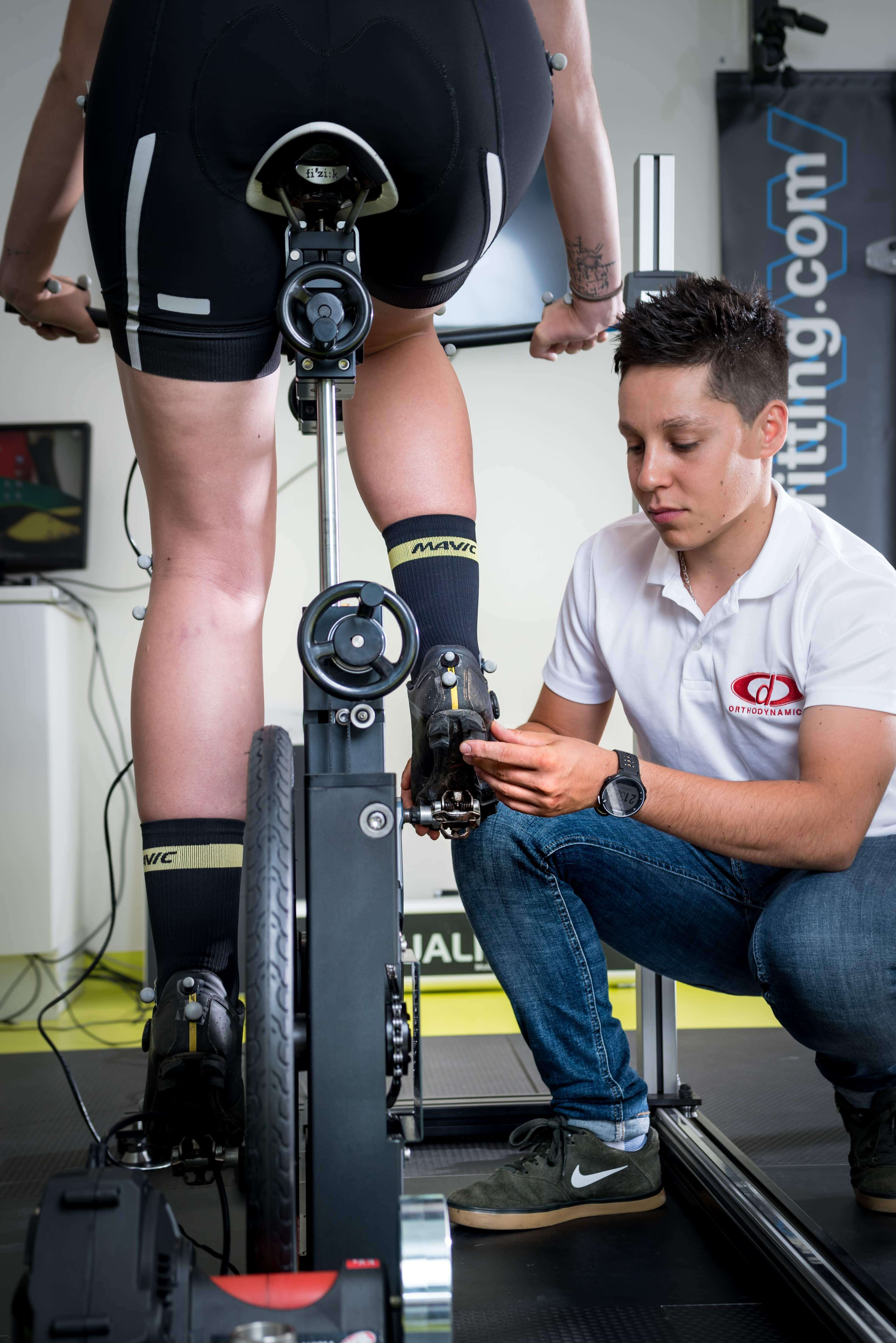 OD Cycling analyse biomécanique cycliste